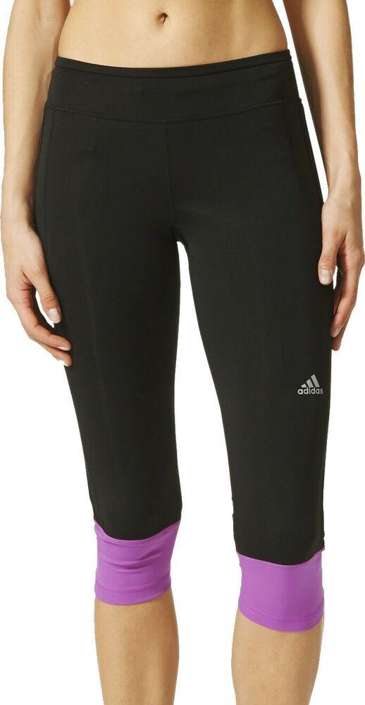 adidas 3//4 Damen Leggings Laufen Tights Hose  Sporthose Fitness Jogging 7890