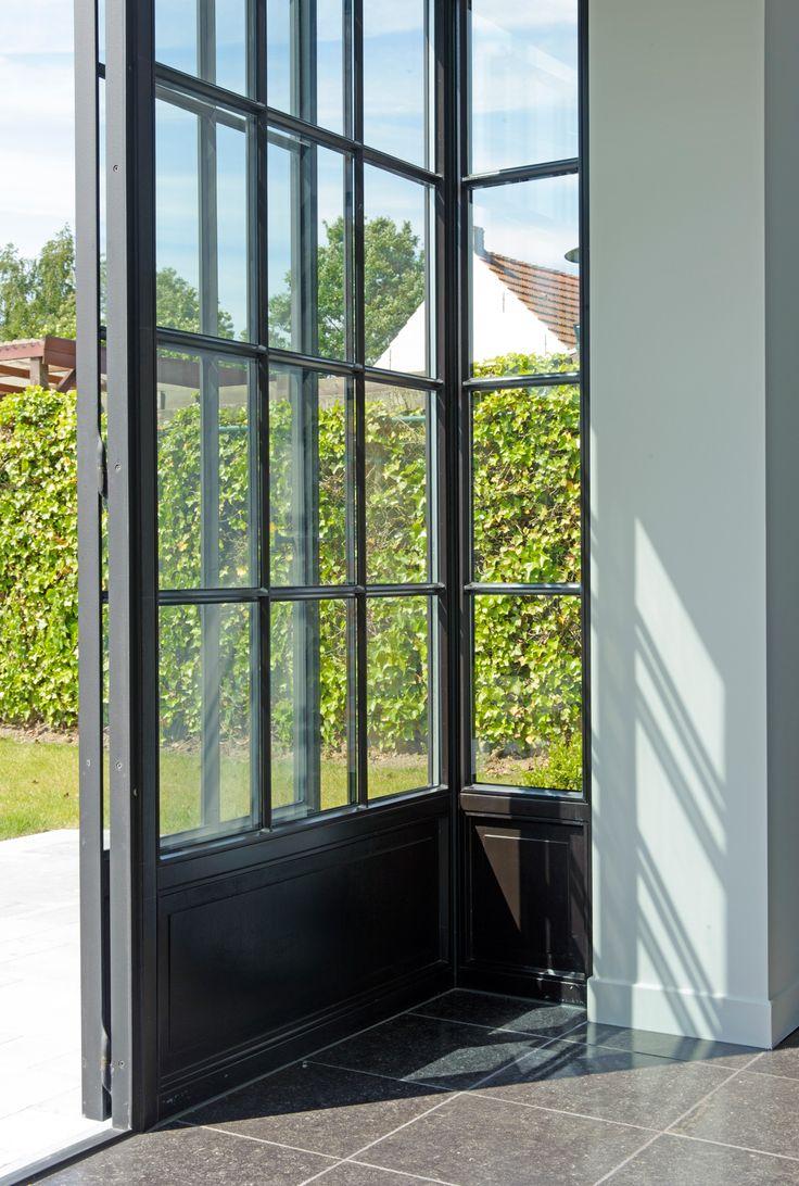 220 beste afbeeldingen over stalen kozijnen en houten deuren op pinterest zwarte deuren - Architectuur renovatie ...