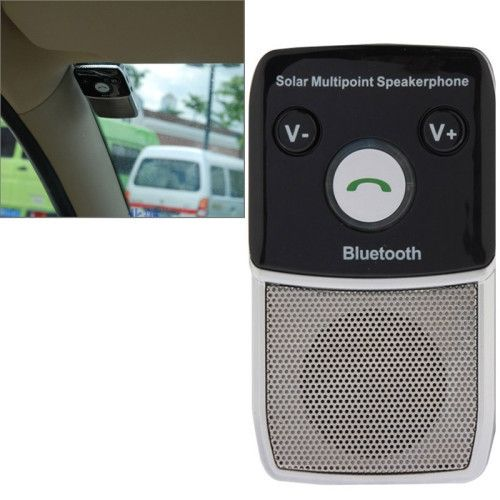 Solar Power Bluetooth 2.1 Hands Free Car Kit