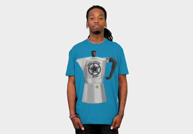 Stove Top Coffee Maker is a T Shirt designed by mailboxdisco to illustrate your life and is available at Design By Humans