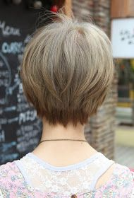 best quality hairstyle: Short Hairstyles Back View Newest