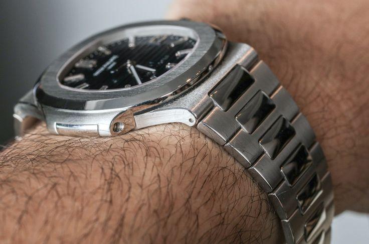 Patek Philippe Nautilus 40th Anniversary 5711/1P Platinum Watch Hands-On