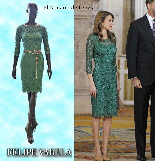 93 best Felipe Varela images on Pinterest | Queen letizia, Princess ...