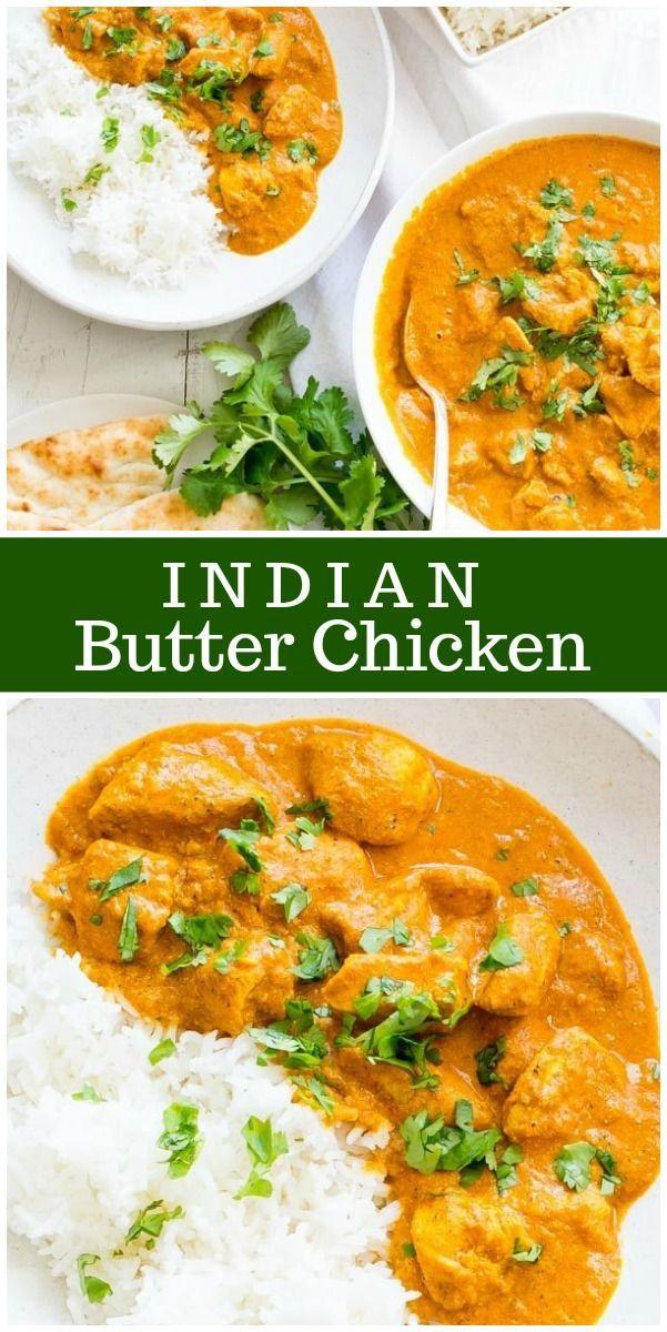 Indian Butter Chicken recipe by RecipeGirl.com