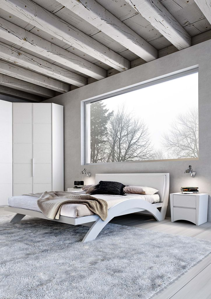 gray and white minimalist bedroom 71 best