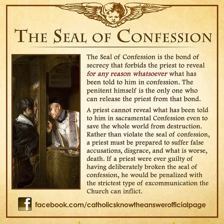 The Seal Of Confession