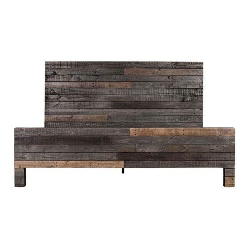 Afton Distressed California King Bed