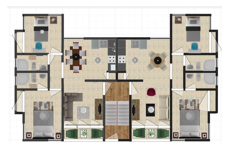 Disneo Edificio de Apartamentos GH. Dic 2014/ Planta
