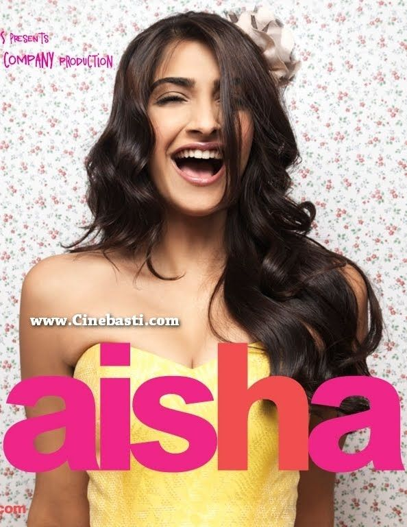 AİSHA(2010) İlişkilerle bezenmiş bir gençlik filmi.Sevgisini  kendisine dahi itiraf edemeyen Aisha ve arkadaşlarının hikayesi.Başrollerde Sonam Kapoor ve Abhay Deol. İmdb puanı:4,9