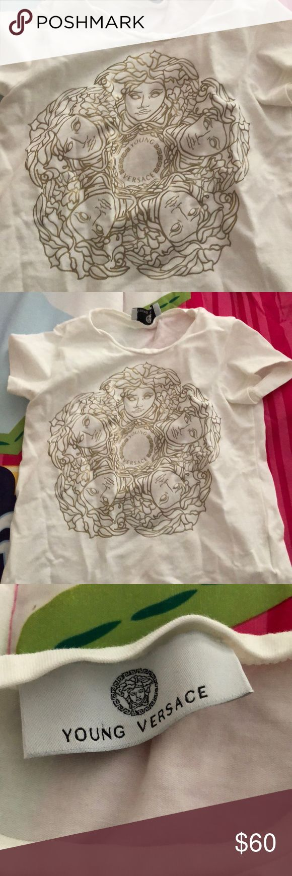 Toddler Versace Shirt Great condition pre owned Versace Shirts & Tops Tees - Short Sleeve