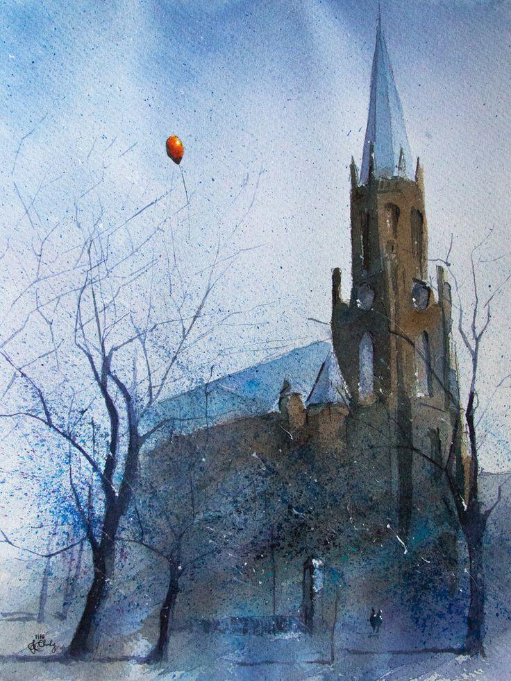 Evangelical church in Myslowice by sanderus on DeviantArt