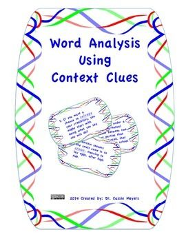 Vocabulary knowledge constantly expands and deepens over time. Vocabulary is acquired incidentally through indirect exposure to words as well as intentionally through explicit instruction.  There are many word-learning strategies, but this activity focuses on multiple word meanings, and using context clues to determine the appropriate definition to fit the particular context.