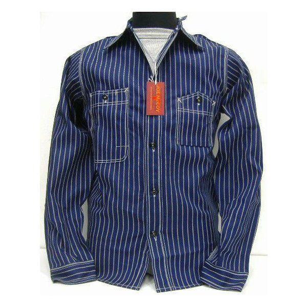 Rakuten: JOE McCOY( Joe McCoy) byTHE REAL McCOY'S (the real McCoy) WABASH WORK SHIRTS long sleeves shirt!- Shopping Japanese products from Japan