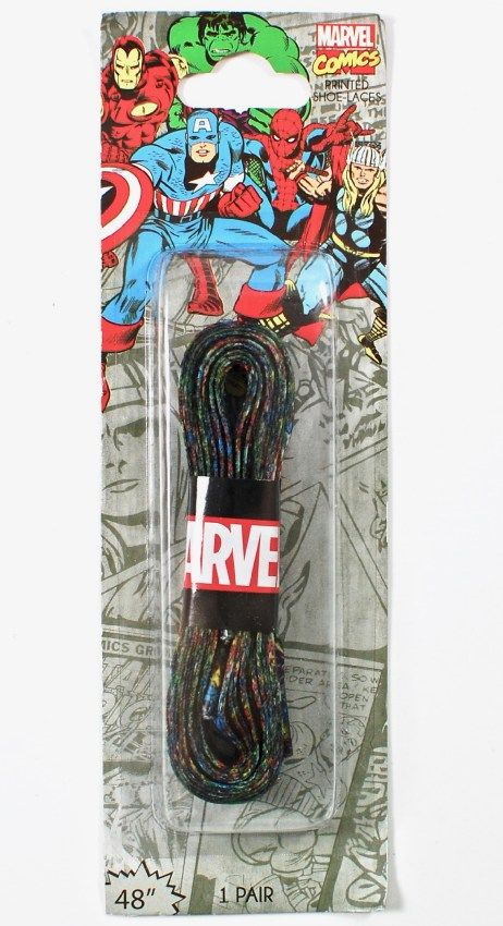 Marvel Comics Printed Shoelaces