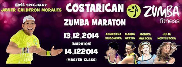 Costarican Zumba Marathon (Poznań, 13.12.2014)