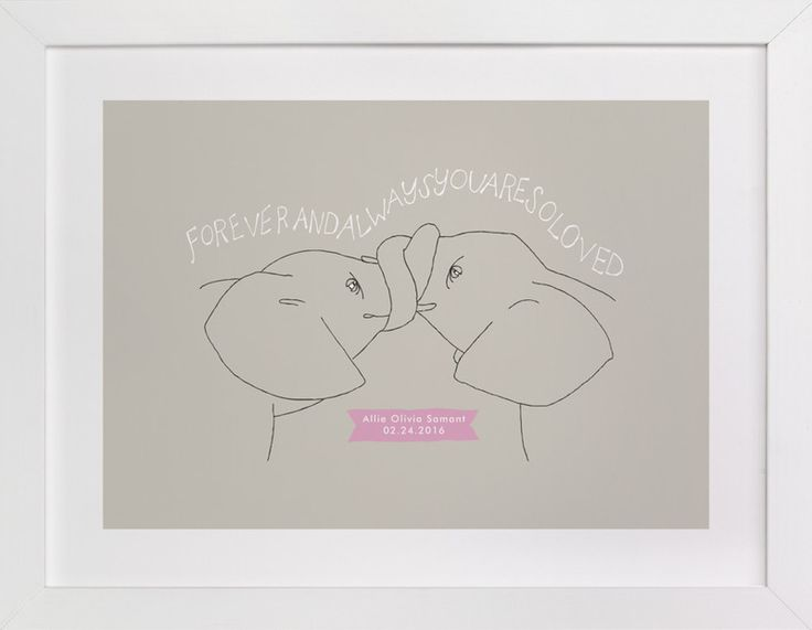 """""""Forever and Always"""" by Annada Hypes in beautiful frame options and a variety of sizes."""