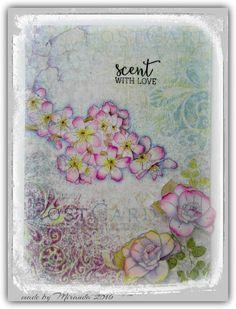 'Mir'acle Art Inspirations: Flowers from impression Obsession....... - Cards Mir'acle Art van Miranda Degenaars | Pinterest - Inspiratie, Kunst en Bloem