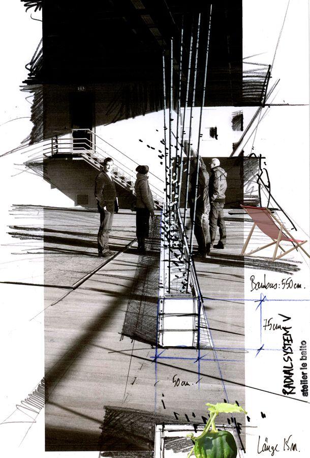Jardin d'en haut une Spree Terrasse, 2011 | atelier de balto | landscape architects: Berlin