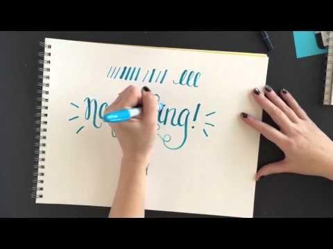 Sharpie Brush Markers Vs Tombow Dual Tip Brush Pens