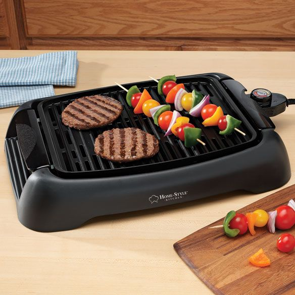 Countertop Electric Grill by Home-Style Kitchen™ - Zoom