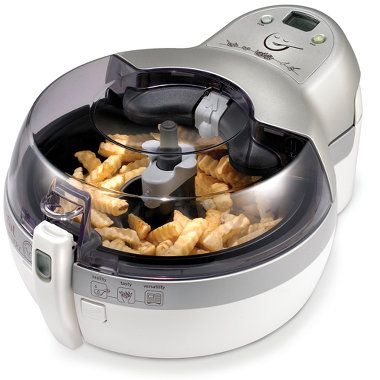 The Healthiest Deep Fryer.  Only uses 1 tbsp of oil!  Need to check this out.