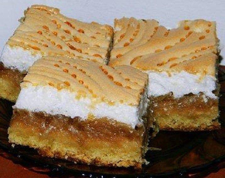 Almás habcsókos süti - MindenegybenBlog