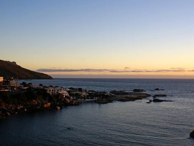 View from Camps Bay Terrace Suite, Penthouse. Cape Town.