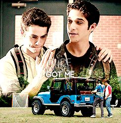 Teen Wolf - Sciles gif - You're my best friend. I need you. Pinned by @lilyriverside