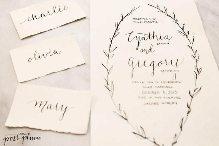 25 Best Images About Wedding Stationary By Post And Plume