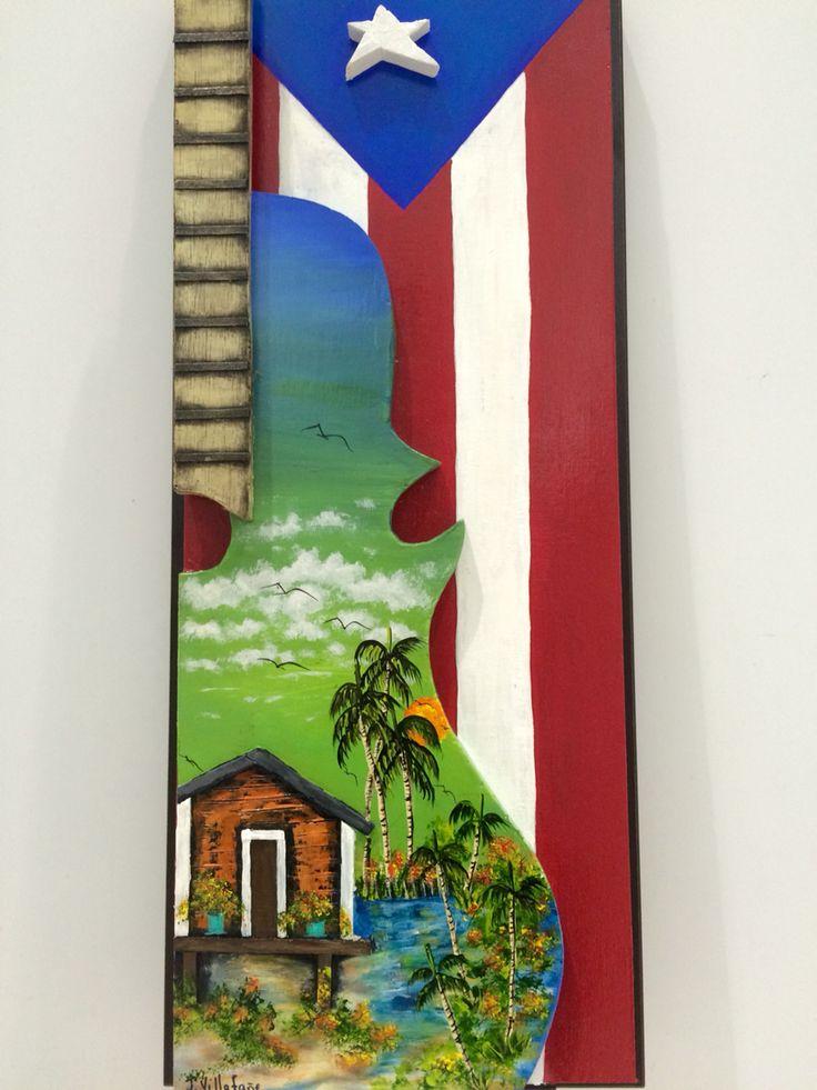Artesanías de Puerto Rico música cuatro puertorriqueño Puerto Rico art and crafts
