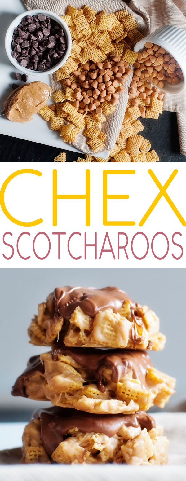 chex scotcharoos Use Hershey butterscotch chips. Nestle's contain gluten