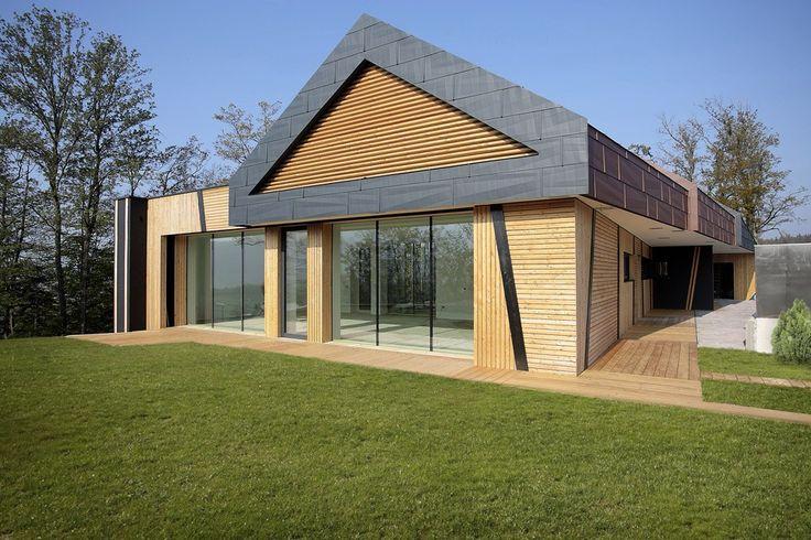 Энергоэффективный сборный дом — 190м2 (индивидуальный проект)