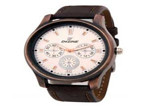 Dezine Men's White Dial analog watch At Rs.399
