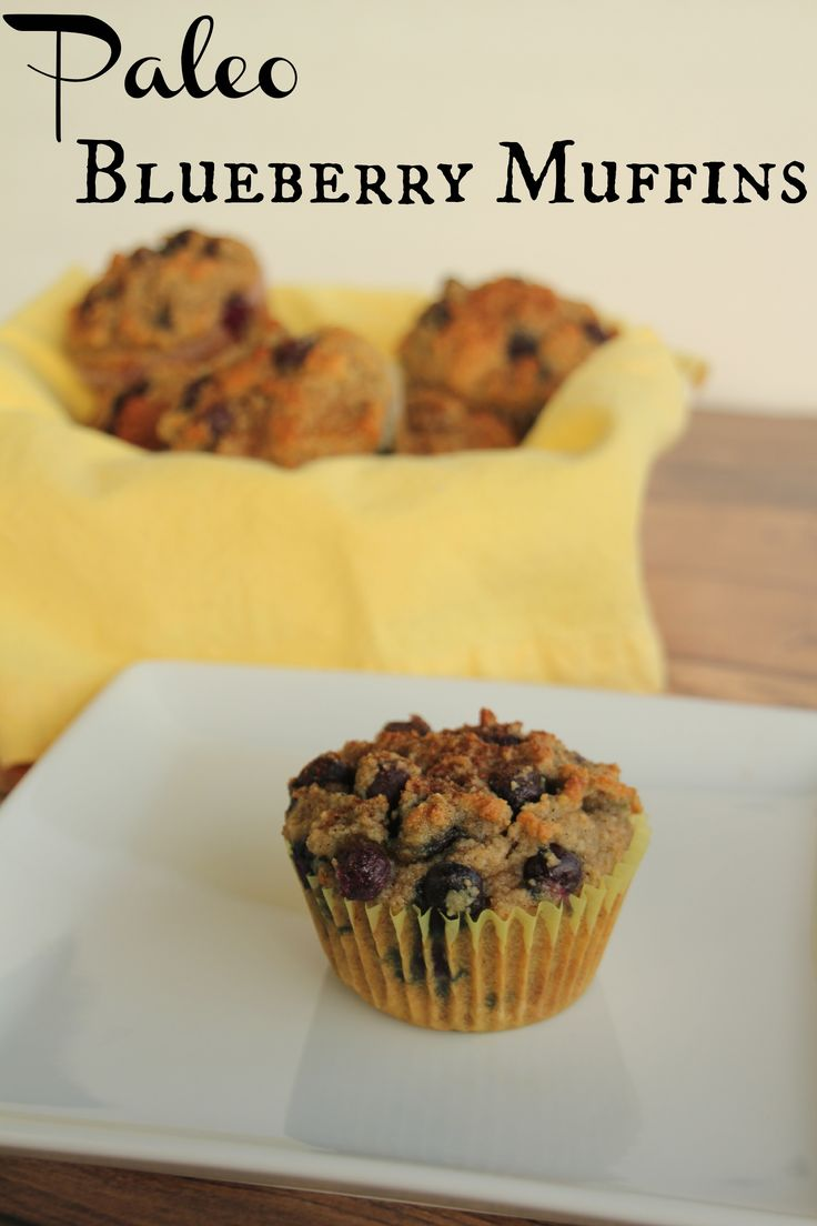 Paleo Blueberry Muffins! These are better than Starbucks and extremely moist.