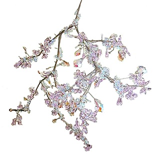 I want this..: Cherries Blossoms, Crystals Chand, Lights Fixtures, Blossoms Chandelieruniqu, Chandelieruniqu Beautiful, Swarovski Crystals, Tord Boontje, Boontje Blossoms, Crystals Palaces