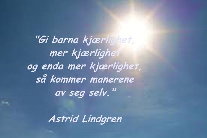 Astrid Lindgren sitat