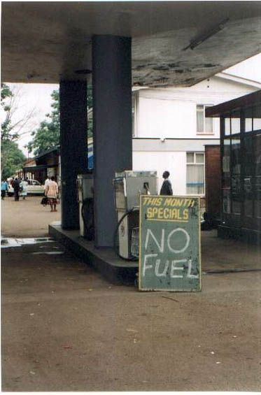 Gas special: Zimbabwe.  A country ravaged by poverty inflicted by other countrymen.