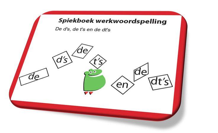 Download gratis spiekboekje werkwoordspelling deel 1