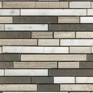 Product ID:MARCOEVOCOBL 12X12 Coevo Coventry Blend Mosaic #Profiletile