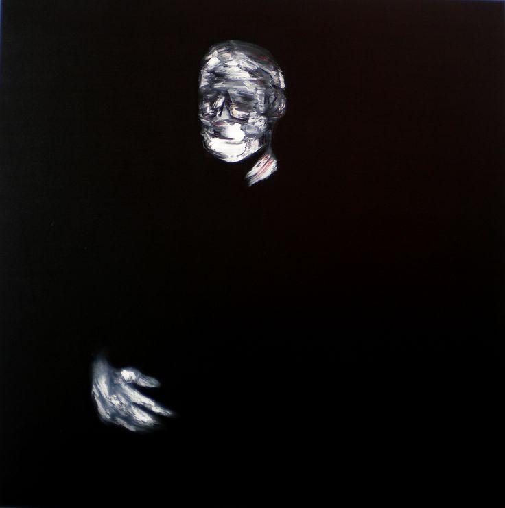 Portrait 300514, 2014, 100x100cm