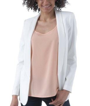 Chic tailored jacket ecru