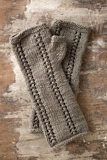 Salto Fingerless Mitts by Christine Marie Chen Knitting Pattern Published in Manos del Uruguay Fairmount Fibers, Ltd.