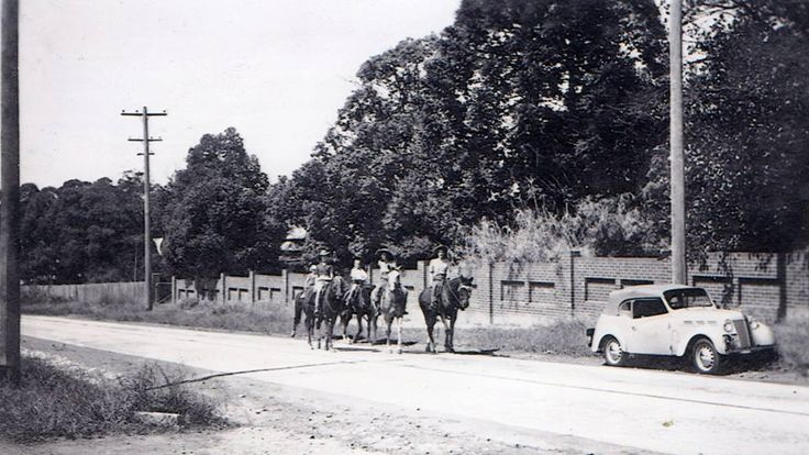 Pacific Highway, Waitara, Sydney in the 1940s