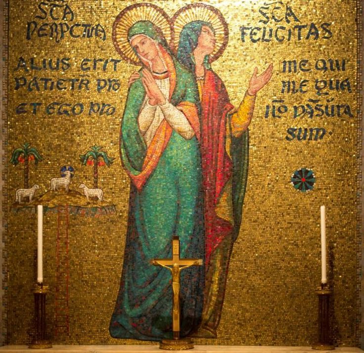 The feast days of saints appearing on the calendar -- from SS. Felicity and Perpetua to St. Joseph -- during Lent offer great examples for living the faith, writes Paul Senz.