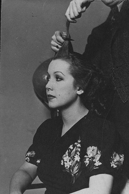 1930s Hair Style Haar Und Beauty Beauty Und Haar