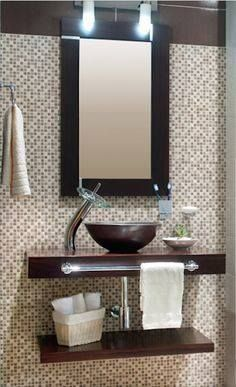 Best 25 lavamanos para ba o ideas on pinterest muebles - Muebles para lavamanos ...