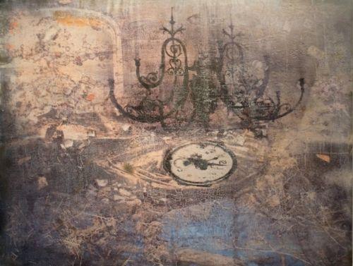 Kunstner: Elisabeth Werp   Teknikk: Maleri, Tempera/blandingsteknikk   Størrelse: 122 x 160 cm   5% kunstavgift inkludert i prisen      Klikk på bildet for en større utgave