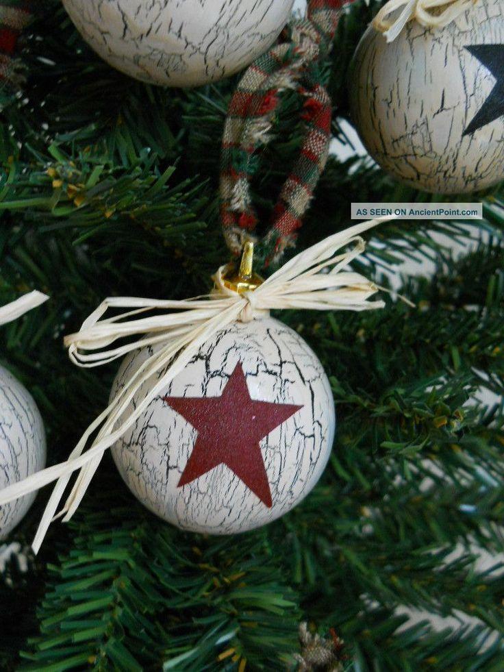 primitive christmas decorations | 10 Primitive Country Christmas Ornaments Primitives photo 2