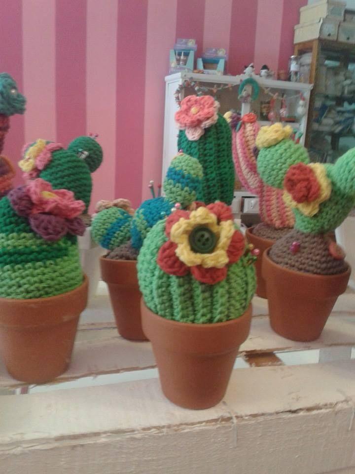 Cactus  tejidos....