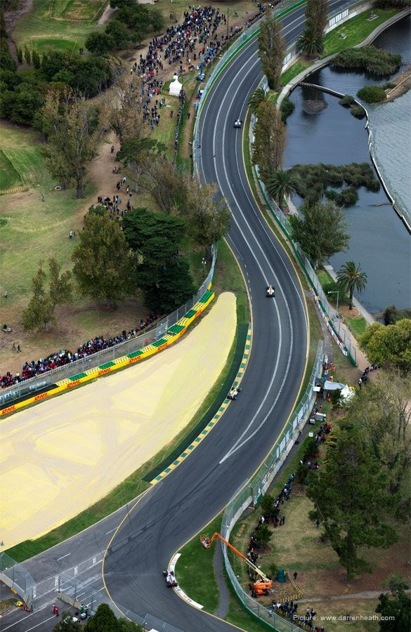 The Australian Grand Prix, by Darren Heath